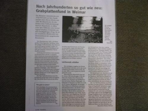 Weimar Jakobskirche m. Friedhof 06