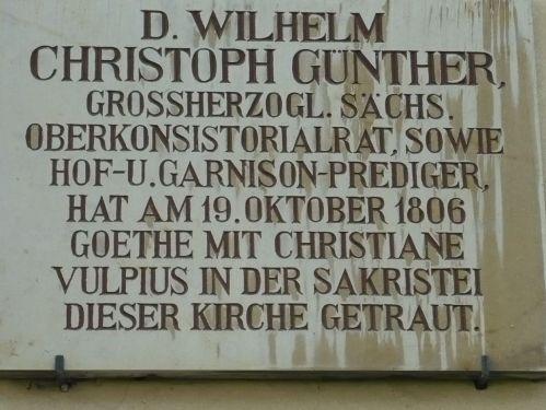 Weimar Jakobskirche m. Friedhof 03