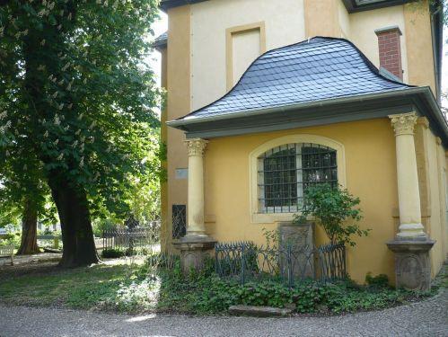Weimar Jakobskirche m. Friedhof 02