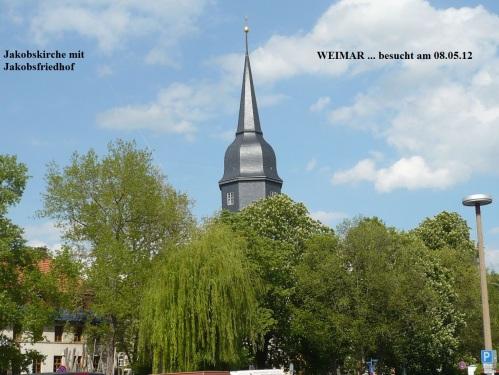 Weimar Jakobskirche m. Friedhof 01