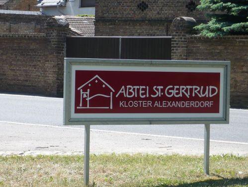 Urlaub bei Berlin 022 _ Besuch Kloster Alexanderdorf