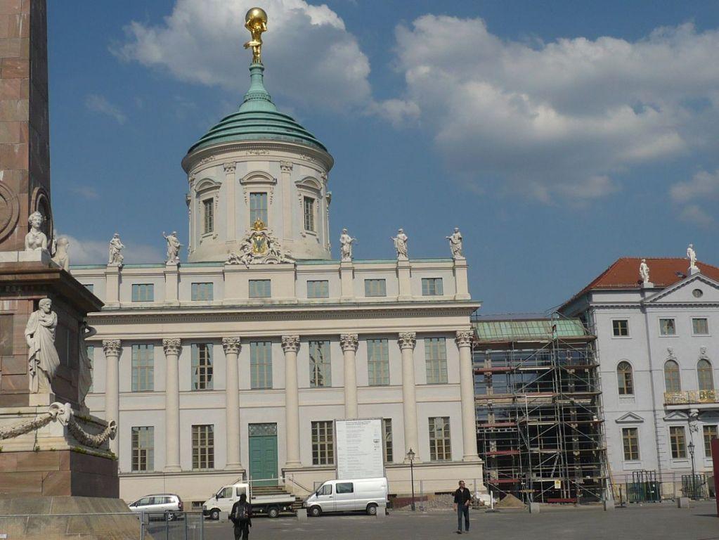 Urlaub bei Berlin 045 _ Besuch in Potsdam _ Das Alte Rathaus