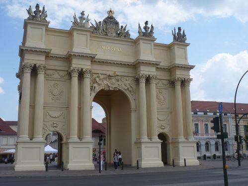 Urlaub bei Berlin 031 _ Besuch in Potsdam _ Brandenburger Tor