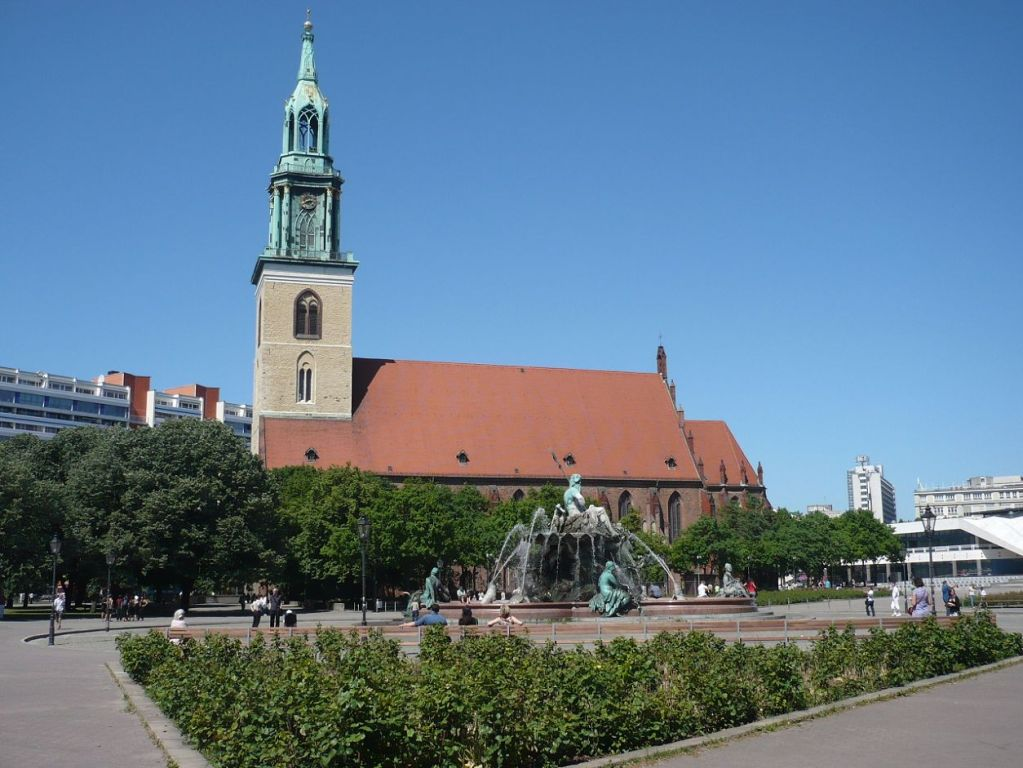 Urlaub bei Berlin 069 _ Besuch in Berlin_ Marienkirche 1