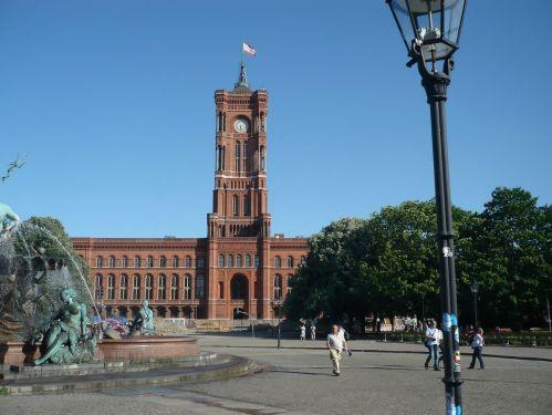 Urlaub bei Berlin 062 _ Besuch in Berlin_ Das Rote Rathaus