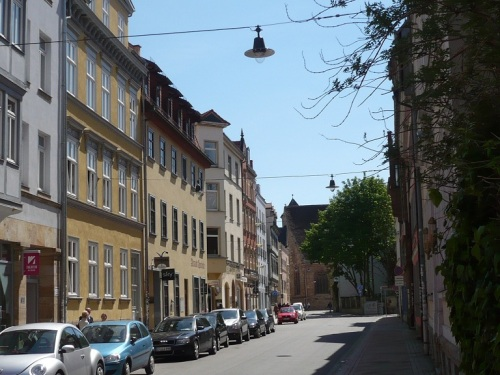 Michaelisstraße Blick zur Michaeliskirche 1