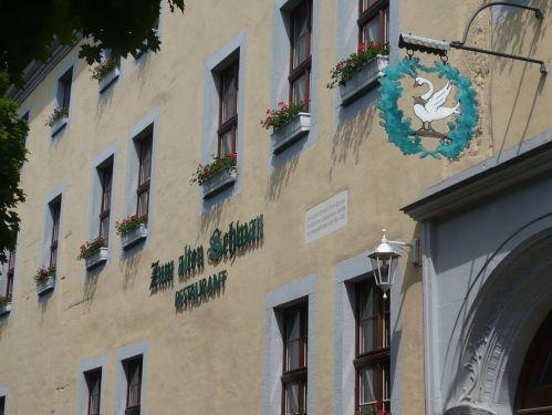 Krämerbrücke 9 Blick auf AltenSchwan