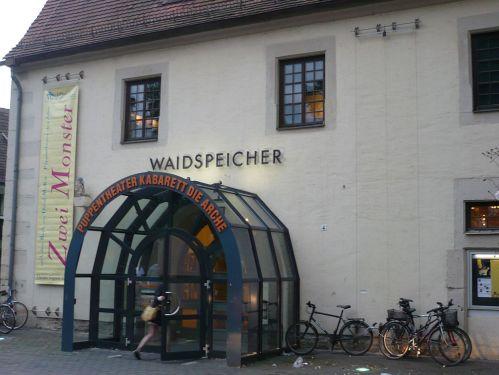 Erfurt / Domplatz / Waidspeicher