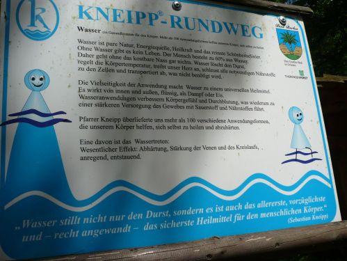 Bad Berka KneippWanderWeg KneippRatschlag