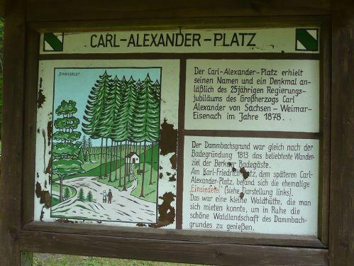Bad Berka KneippWanderWeg C.-Alexander-Platz