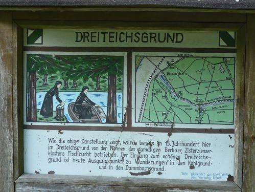 Bad Berka KneippWanderWeg Dreiteichsgrund