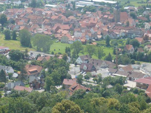 2012.07.04. Heldburg_Thür. Blick übers Land