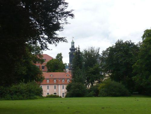 Weimar Blick vom IlmPark