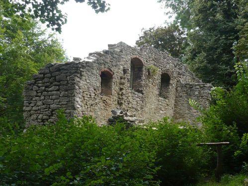 Weimar IlmPark Ruine