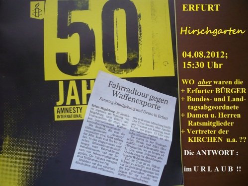 DEMO gegen dtsch. WaffenEXPORTE 4.8.12 - 1