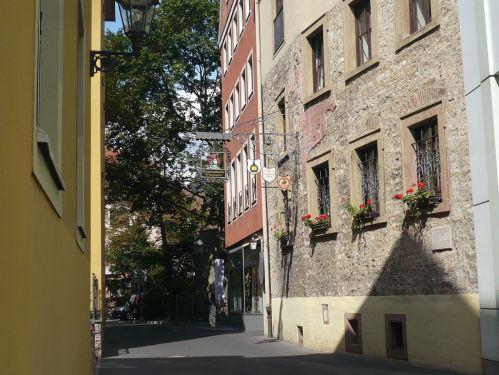 Würzburg 088 - Impressionen - Riemenschneider-Haus