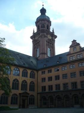 Würzburg 082 - Impressionen - Alte Uni