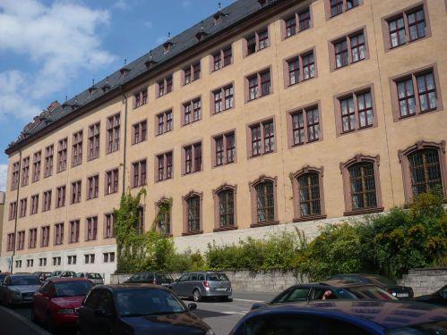 Würzburg 081 - Impressionen - Alte Uni
