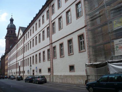 Würzburg 079 - Impressionen - Alte Uni