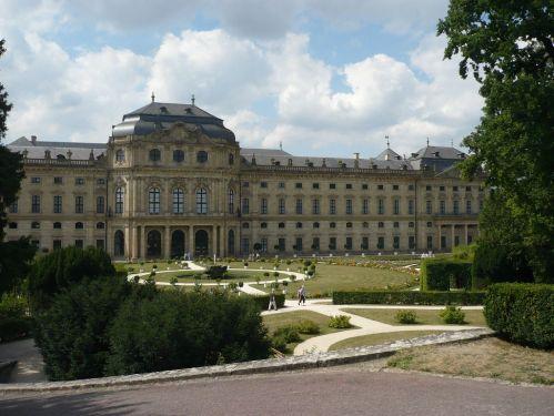 Würzburg 078 - Impressionen - Residenz-Garten