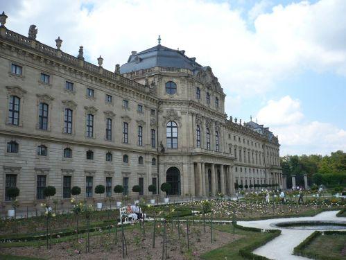 Würzburg 076 - Impressionen - Residenz-Garten