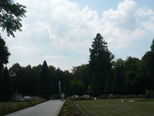 Würzburg 074 - Impressionen - Residenz-Garten