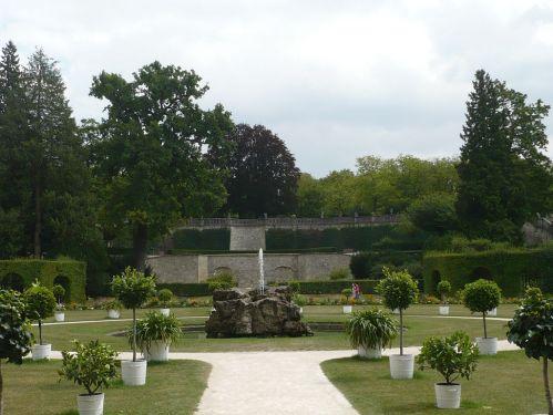 Würzburg 071 - Impressionen - Residenz-Garten
