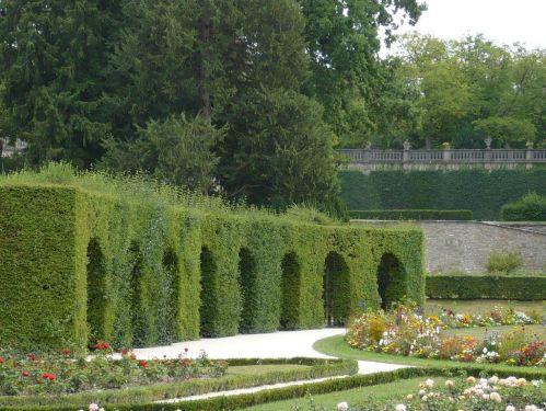 Würzburg 070 - Impressionen - Residenz-Garten