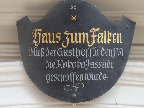 Würzburg 046 - Impressionen - Falkenhaus