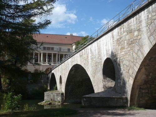 Weimar IlmPark Brücke z. Schloss Süd