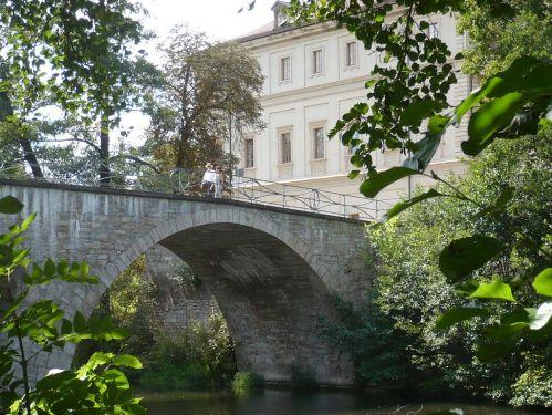 Weimar IlmPark Brücke z. Schloss Nord