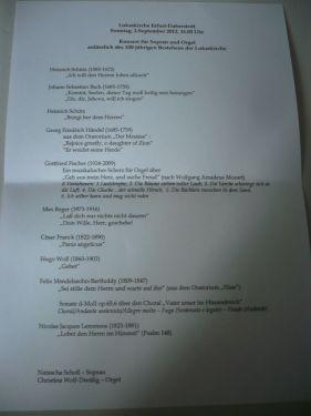 2012.09.02 Konzert