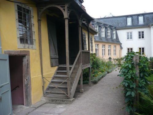 Weimar Fiktiver Rundgang mit Goethe 24