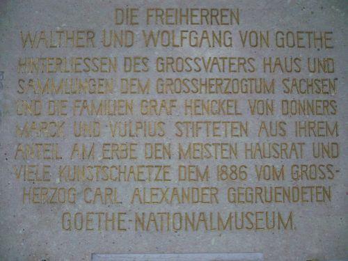 Weimar Fiktiver Rundgang mit Goethe 04