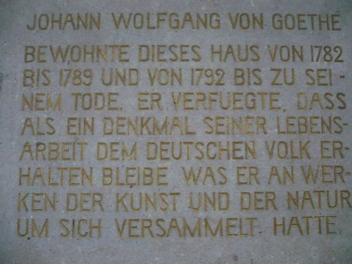 Weimar Fiktiver Rundgang mit Goethe 03