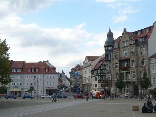 Eisenach 22 Marktplatz