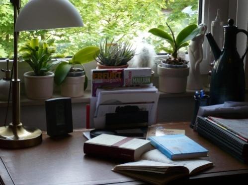 PachTs Schreibtisch