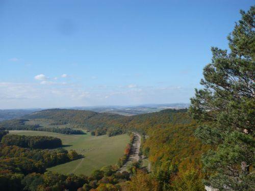 2012.10.11 Gr. HörselBerg-Wanderung 14 Blick auf ehem. BAB 4