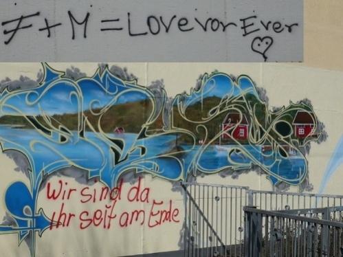 Graffiti und mangelnde Bildung