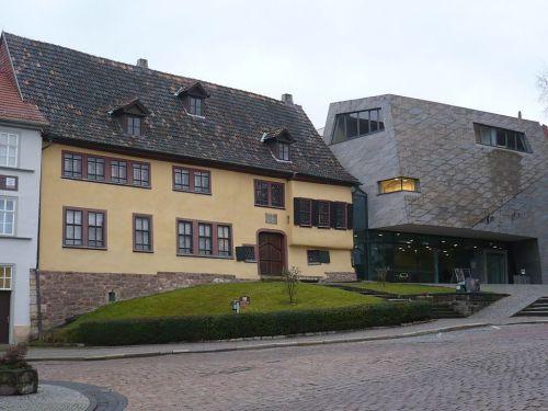 Eisenach  Altes u. neues BachHaus am Frauenplan