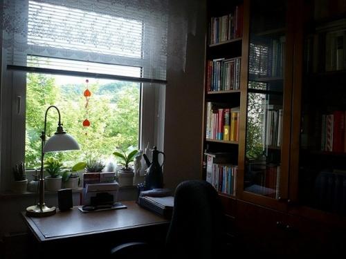 PachTs Arbeitsplatz im Denk- u. Schreiblabor