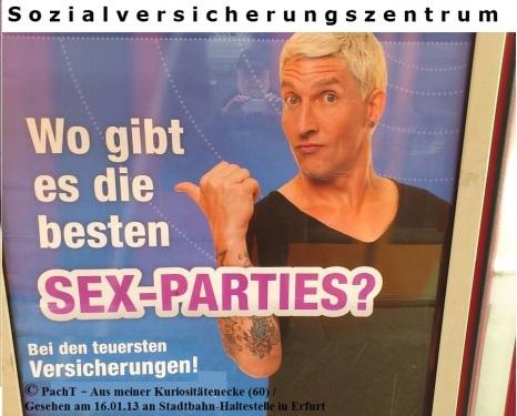 KURIOS 60 SexParty öffentlich in EF