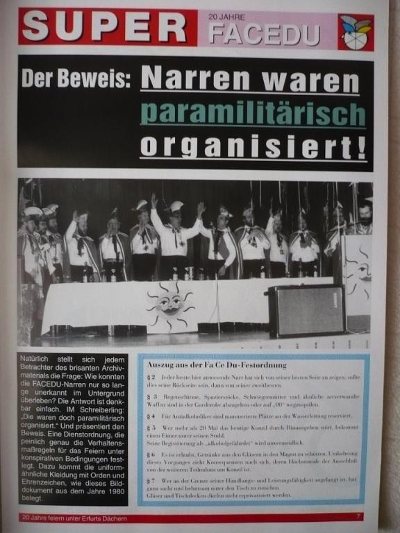 2013 Ausstellung -Karneval in der DDR- 7 FaCeDu 2