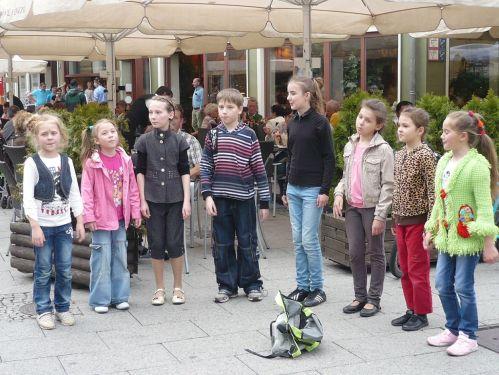 Weimar Kleine Straßenmusikanten