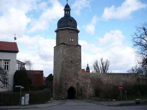 10 Arnstadt Alte Stadtmauer
