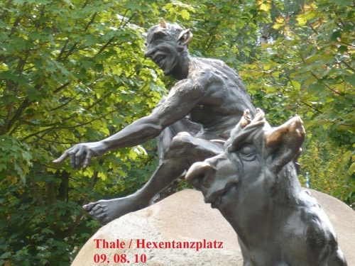 Hexentanzplatz  Thale