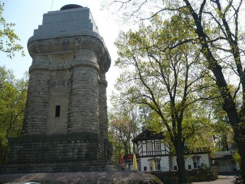 Steigerwald / Bismarck-Turm und Restaurant