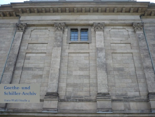 Weimar Goethe_Schiller_Archiv