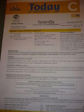 347 6.KSF St. CRUZ de TENERIFE