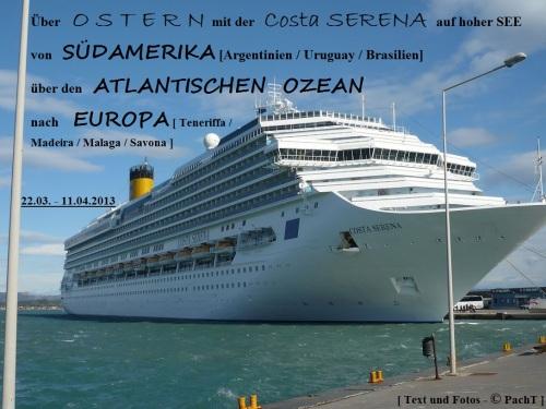 001 6.KSF Costa SERENA - Unser Schiff
